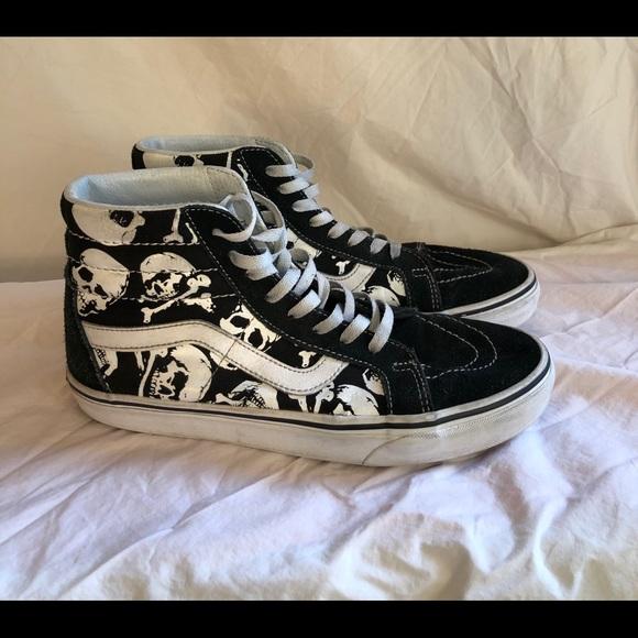 Vans Shoes   Skull High Tops   Poshmark